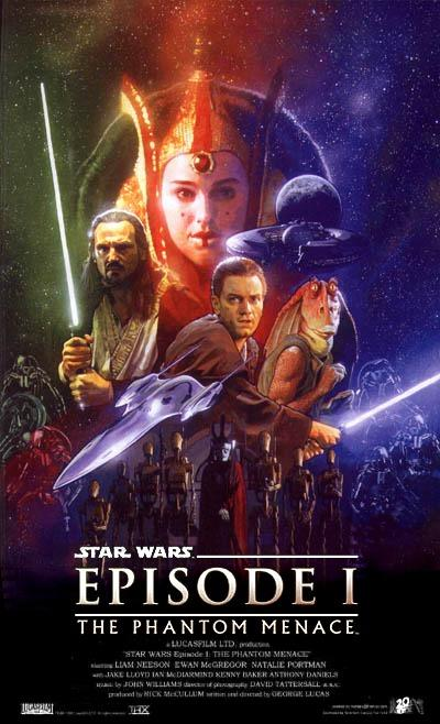 Star Wars Episode I The Phantom Menace 1999 Movie Posters