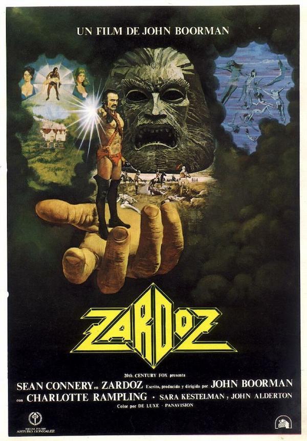 Zardoz (1974) movie posters