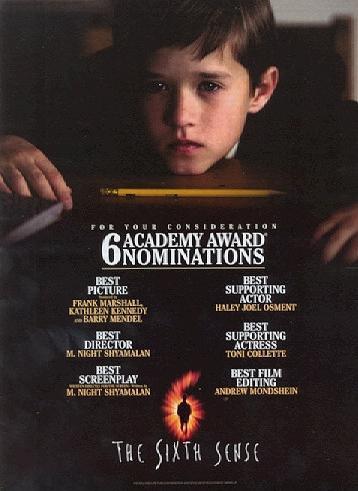The Sixth Sense 1999 Movie Posters