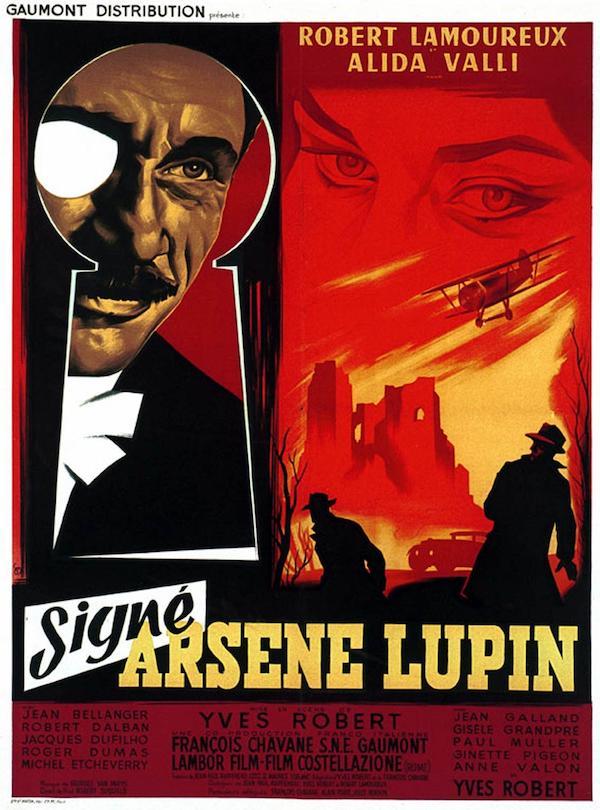 Signé: Arsène Lupin