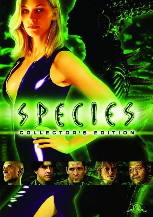 Species (1995) movie posters