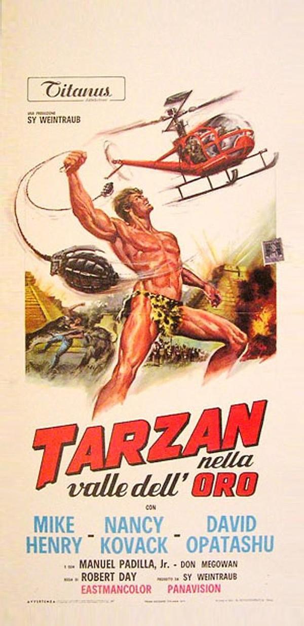 Tarzan und das Tal des Goldes 700x1442