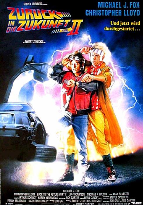 Back to the Future Part II 489x700