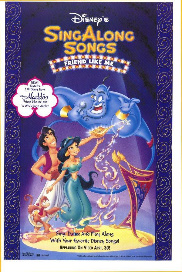 Disney Sing-Along-Songs: Friend Like Me 600x897