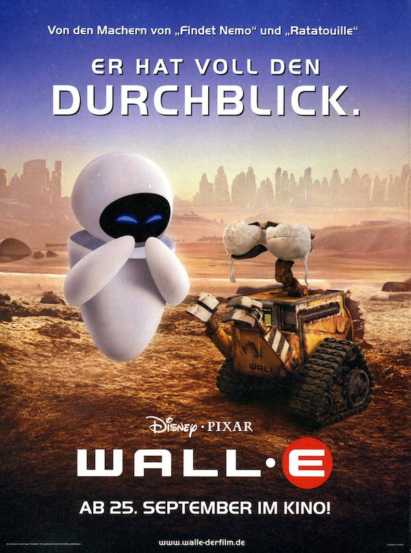 whats the movie in wall- e