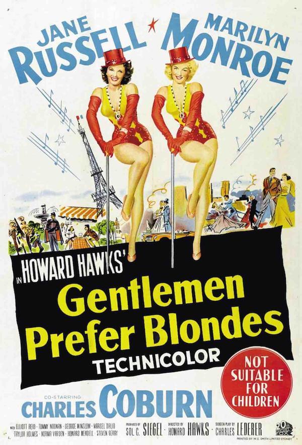 Gentlemen Prefer Blondes 1257x1854