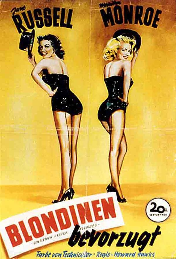 Gentlemen Prefer Blondes 611x897