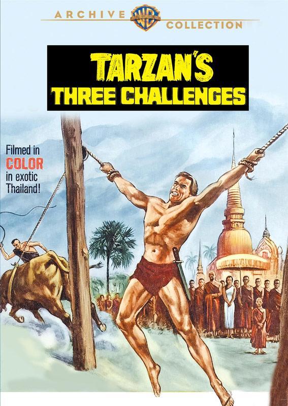 Tarzan's Three Challenges 567x800