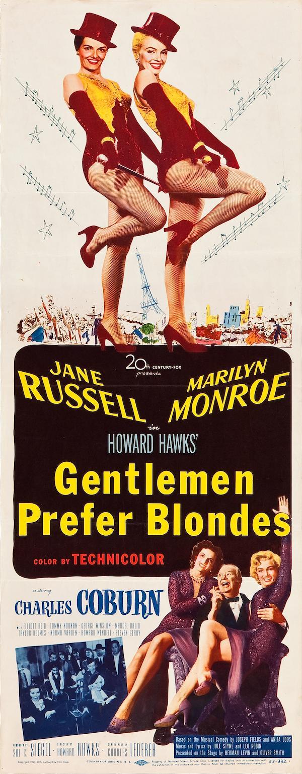 Gentlemen Prefer Blondes 1171x3000