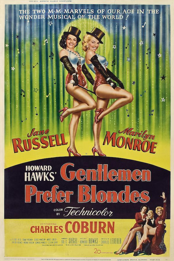 Gentlemen Prefer Blondes 1997x3000