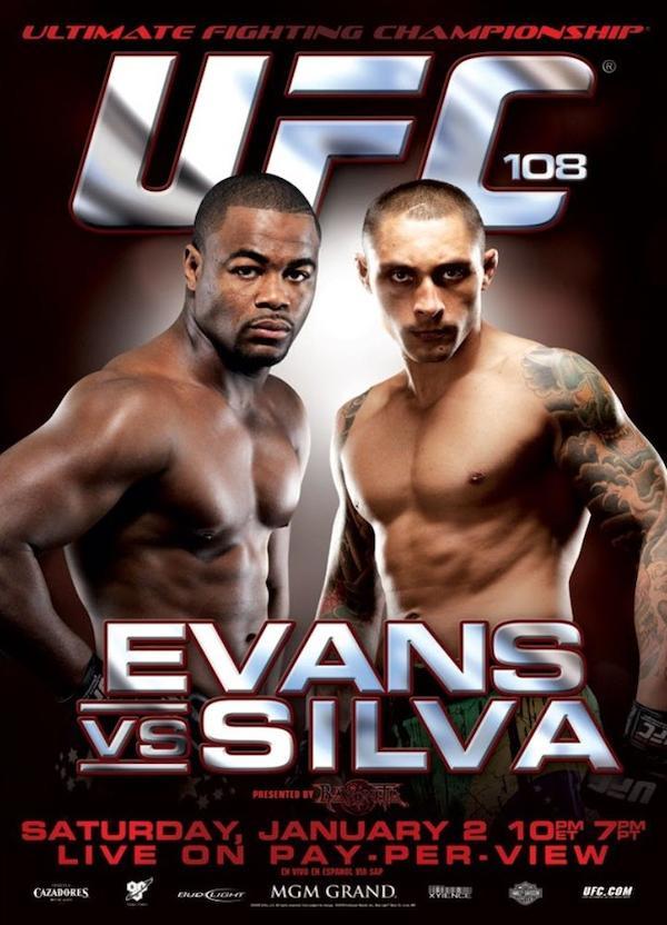 UFC 108: Evans vs. Silva