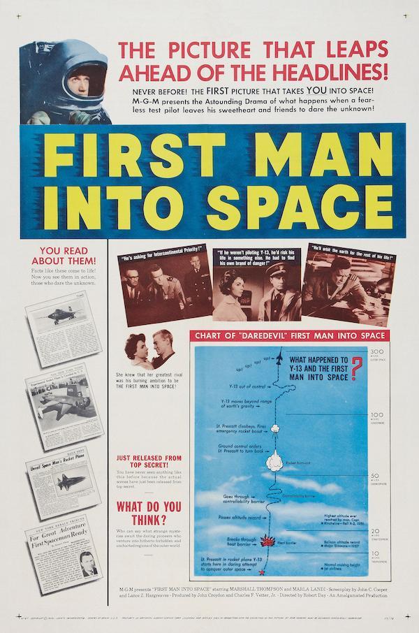 El primer piloto del espacio