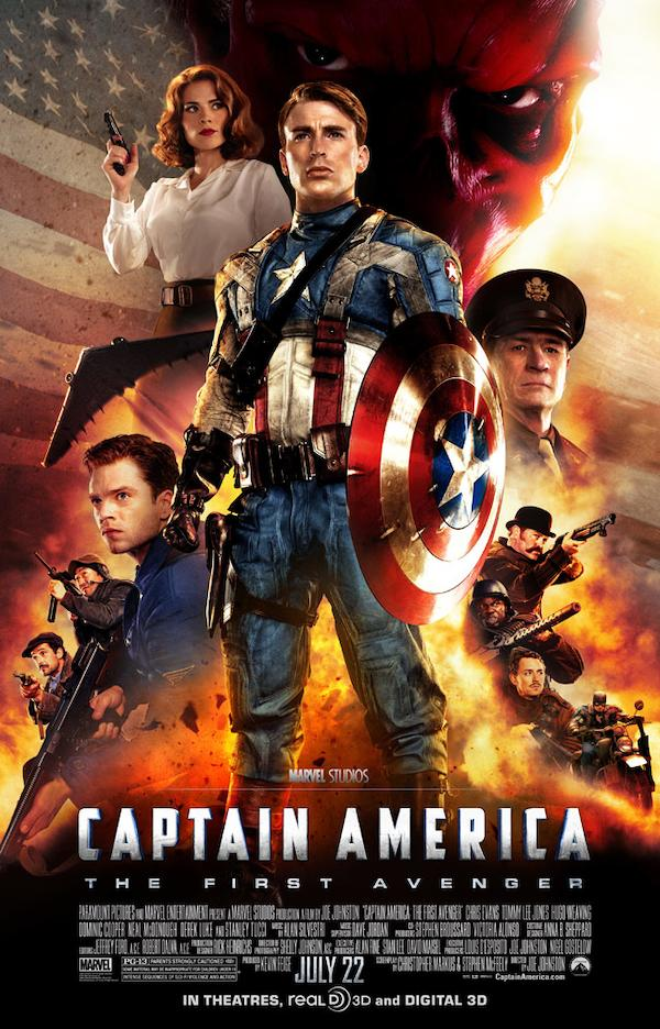 Captain America: The First Avenger 640x998