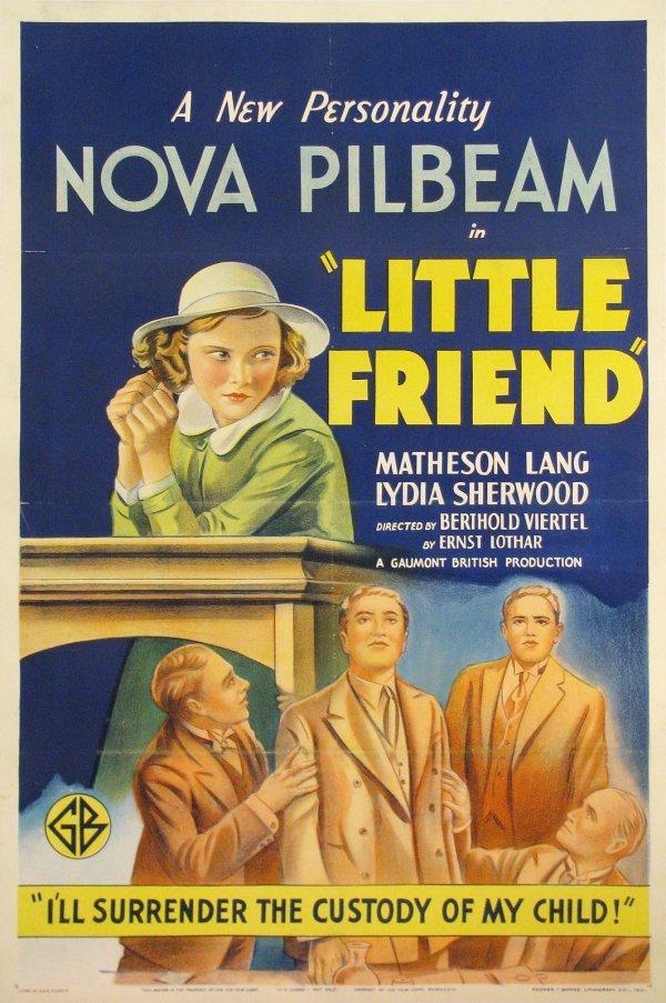 Little Friend (1934) US poster