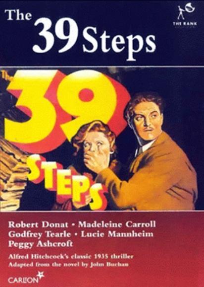 The 39 Steps 412x578