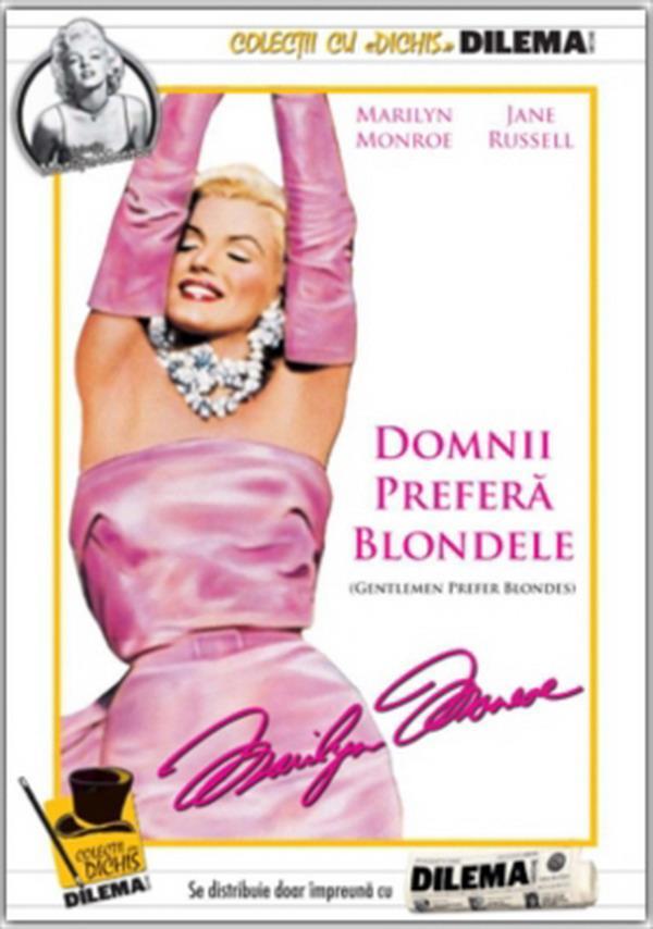 Gentlemen Prefer Blondes 600x854