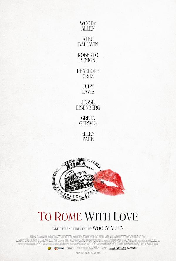 To Rome with Love 3375x5000