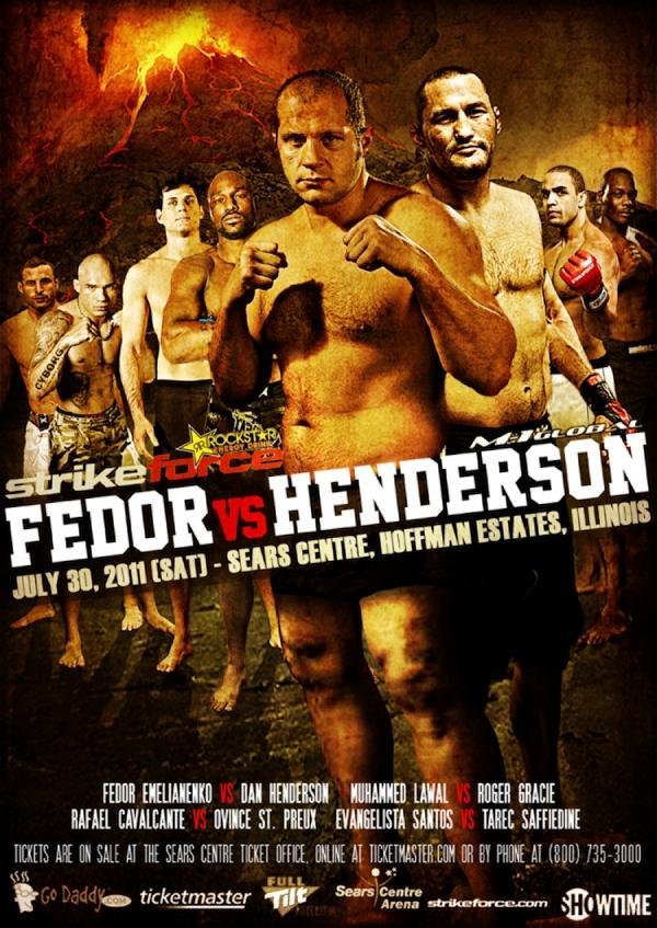 Strikeforce M-1 Global: Fedor vs. Henderson 900x1271