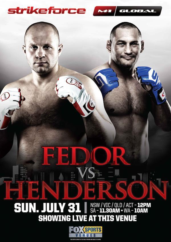 Strikeforce M-1 Global: Fedor vs. Henderson 3508x4961