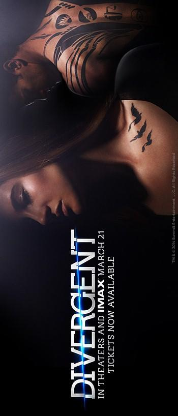 Divergent 350x818