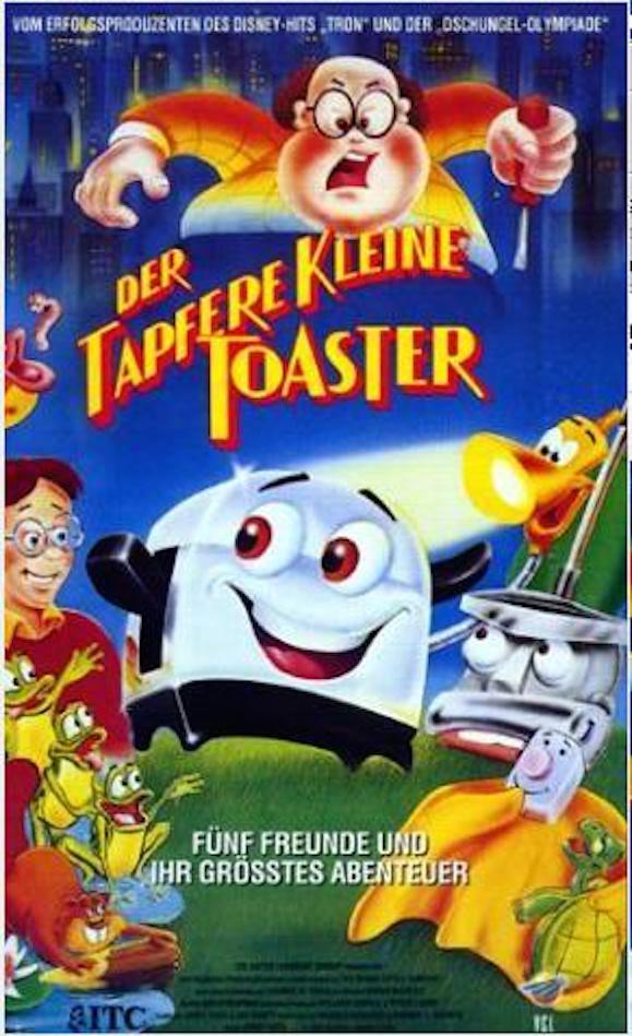 The Brave Little Toaster 579x949