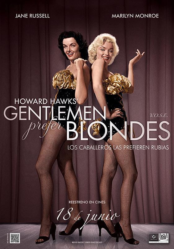 Gentlemen Prefer Blondes 561x800