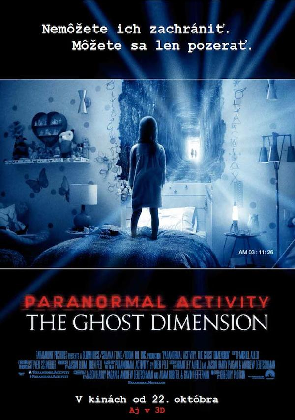 Paranormal Activity: The Ghost Dimension 639x908