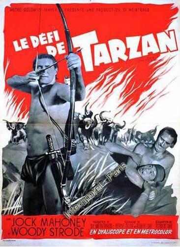 Tarzan's Three Challenges 366x501